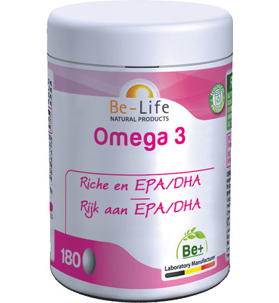 afbeelding Be-life Omega 3 500 (180ca)