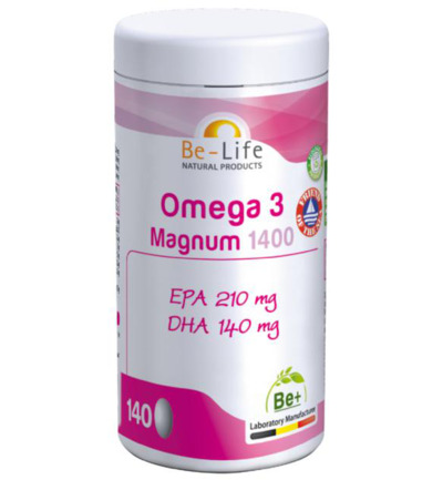 afbeelding Be-life Omega 3 Magnum 1400 (140ca)