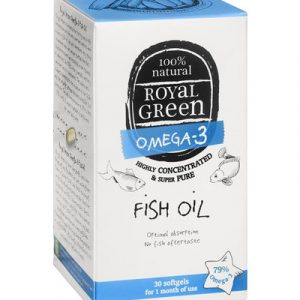 afbeelding Royal Green Omega 3 Visolie (30sft)