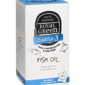 afbeelding Royal Green Omega 3 Visolie (60sft)