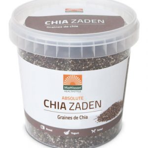 afbeelding Mattisson Absolute Chia Zaad Raw (500g)