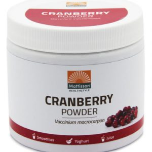 afbeelding Mattisson Absolute Cranberry Powder (125g)