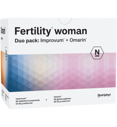 afbeelding Nutriphyt Fertility Woman Duo (120ca)